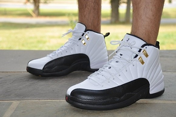 Air Jordan XII 12 Retro Taxi On Feet Images