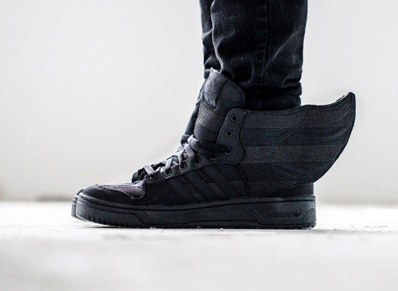 ASAP Rocky x Jeremy Scott adidas Wings 2.0 Black Flag Another Look