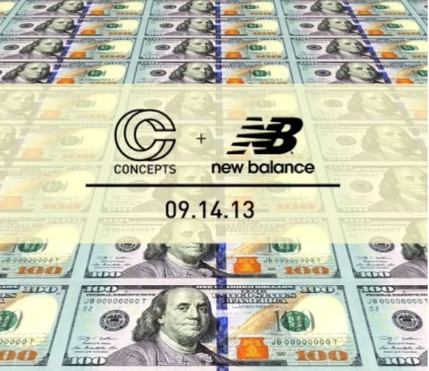 Concepts x New Balance 998 C-Note Teaser
