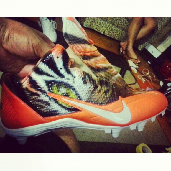 Custom Nike Cleats for Aj Green by Dez Customz Preview