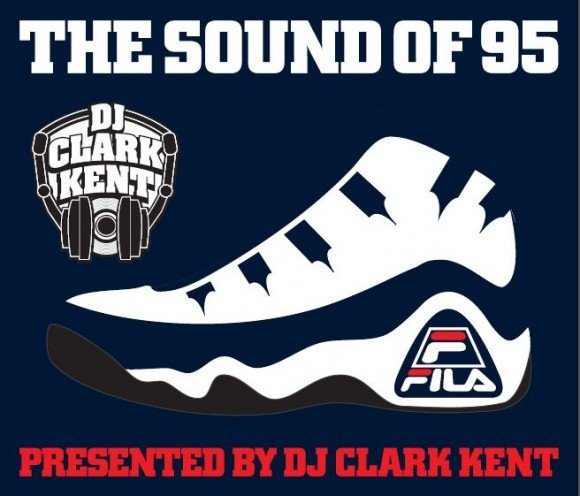 DJ Clark Kent Presents The Sound Of 95 Mixtape Inspired By The FILA 95 Sneaker