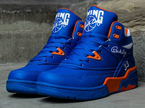 Ewing Guard Prince Blue Detailed Look