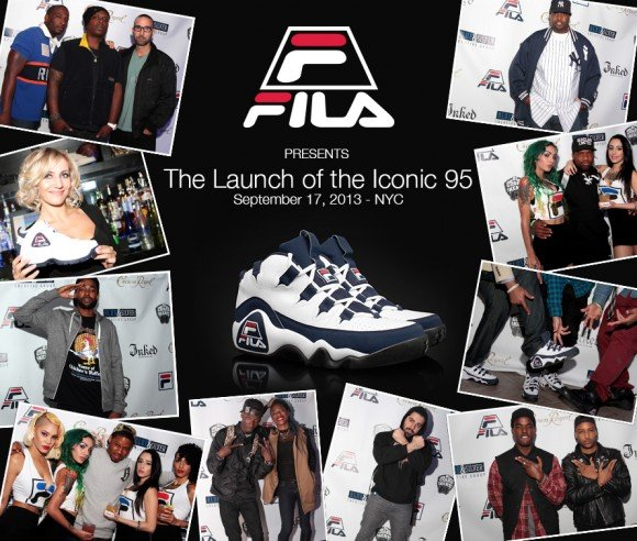 FILA launches '95 sneakers in New York City with blowout event!