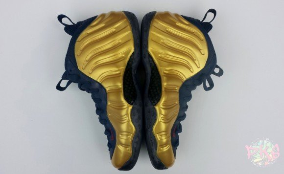 Nike Foamposite One Olympic Gold by pkcustoms