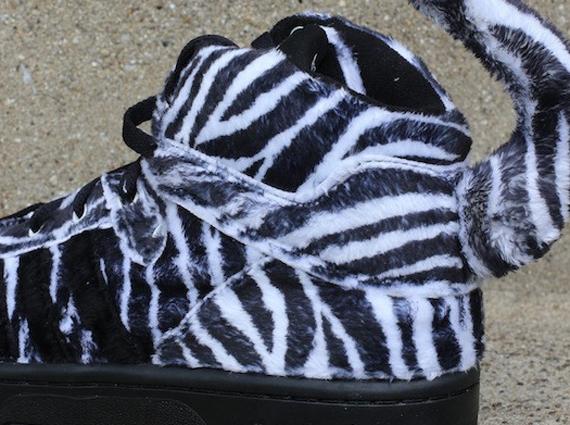 Jeremy Scott x adidas Originals Zebra Now Available