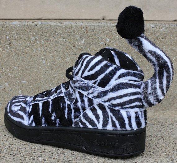 Jeremy Scott x adidas Originals Zebra Now Available