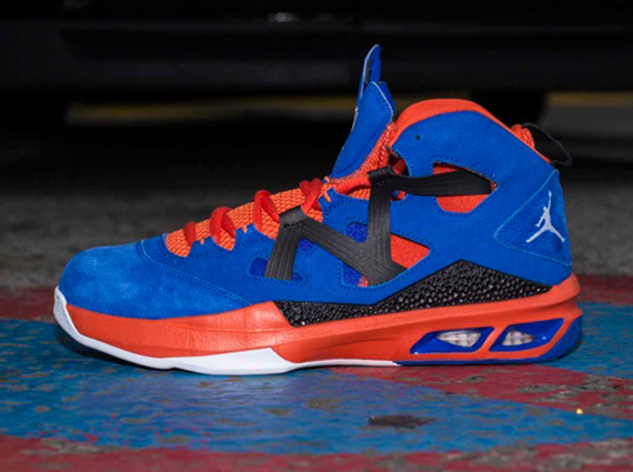 check out 9f802 1d444 Jordan Melo M9 Game Royal Orange Black Now Available
