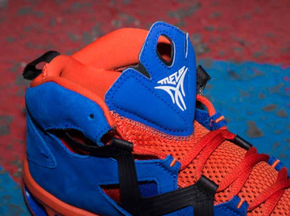 Jordan Melo M9 Game Royal Orange Black Now Available