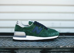 New Balance 990 'Made in USA' – Green/Blue