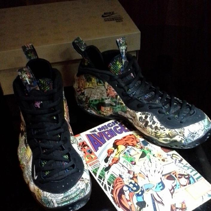 "air foamposite pro ""spider-man""|616750400|Nike |Iron Man Nike Foams"