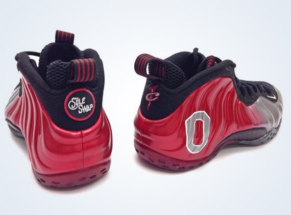 """premium selection 3f962 6e142 Nike Air Foamposite One """"Ohio State"""" Customs by Sole Swap  reebok question  ..."""
