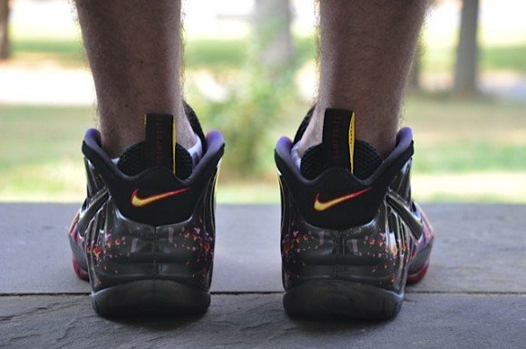 Nike Air Foamposite Pro Asteroid On-Feet Images