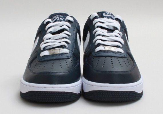 668d4faa325881 Nike Air Force 1 Low – Armory Navy – White - Now Available ...