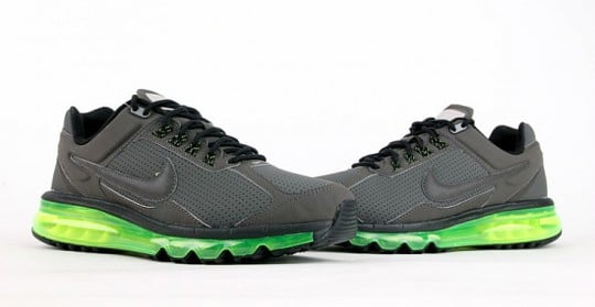 Nike Air Max 2013 Leather \u0026#39;Grey/Black-Volt\u0026#39; | SneakerFiles
