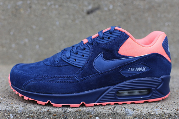 Nike Air Max 90 Premium – Brave Blue Atomic Pink Now Available