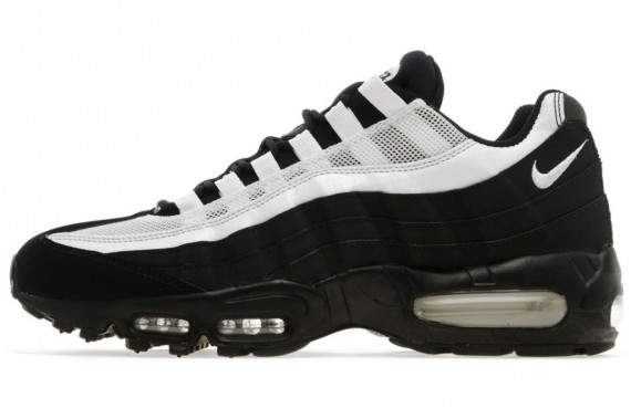 Nike Air Max 95 Black White Now Available