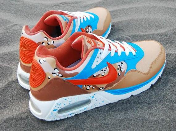 sports shoes f6fe2 dc419 Nike Air Max Correlate Sea Sun Sand Customs by Sevenzulu