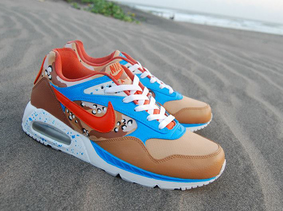 Nike Air Max Correlate Sea Sun Sand Customs by Sevenzulu