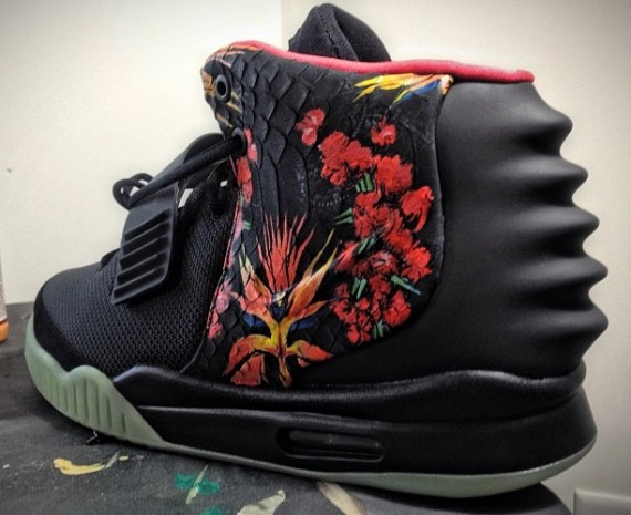 Nike Air Yeezy 2 Givenchy by Mache Customs