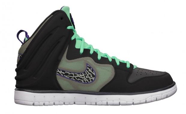 Nike Dunk Free  Dark Charcoal Black-Gamma Blue-White   2cedf4e5b1