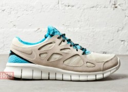 Nike Free Run+ 2 'Beach/Gamma Blue'