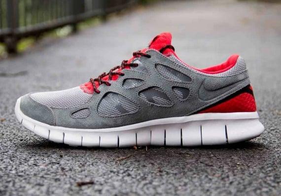 Nike Free Run 2 Challenge Rouge  / Laser