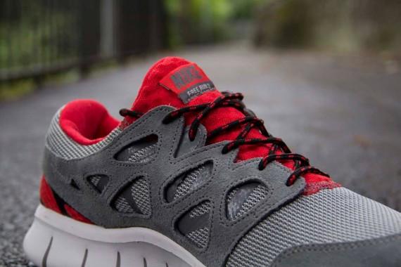 Nike Free Run 3 Red And Grey  97b785e944c