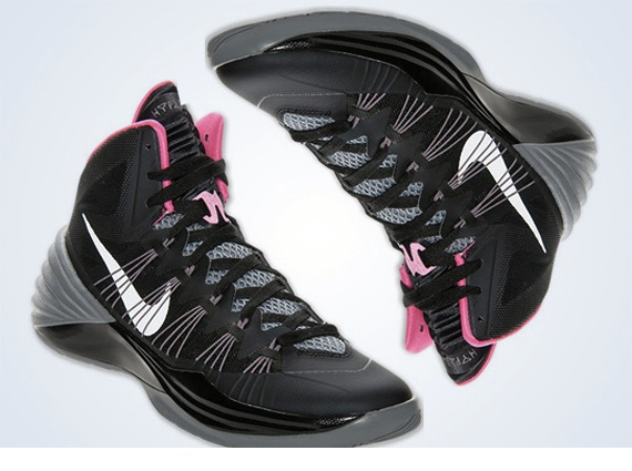 on sale 221ed ad000 Nike Hyperdunk 2013 Black Grey Pink
