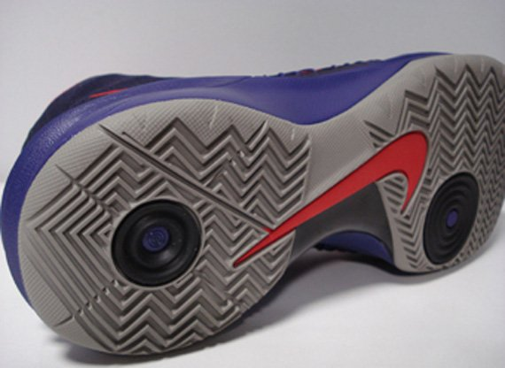 Nike Hyperdunk 2013 Purple Red Grey