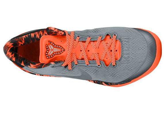 premium selection ecf36 ec7c7 Nike Kobe 8 PP Cool Grey Metallic Silver Team Orange Now Available