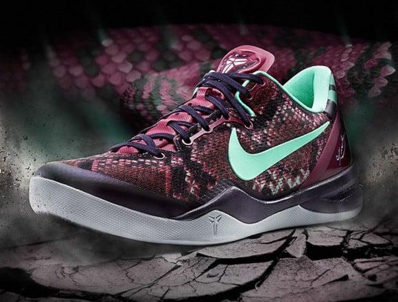 Nike Kobe 8 Pit Viper Release Info