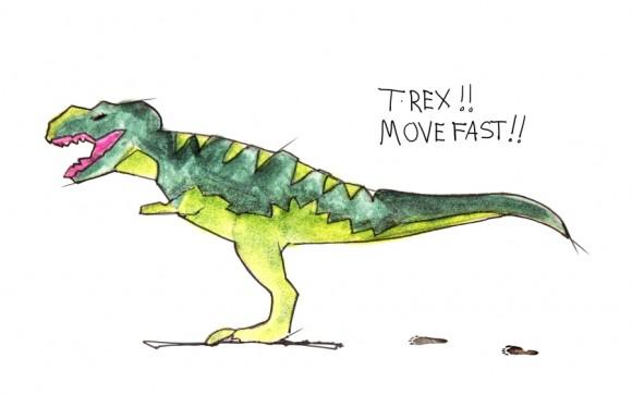 Nike LeBron 11 GS T-Rex