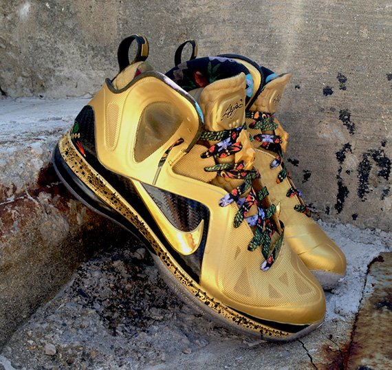 Nike LeBron 9 Elite Un-Watch The Throne by DeJesus Customs