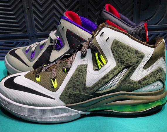 Nike LeBron Ambassador 6 Grey Volt Black
