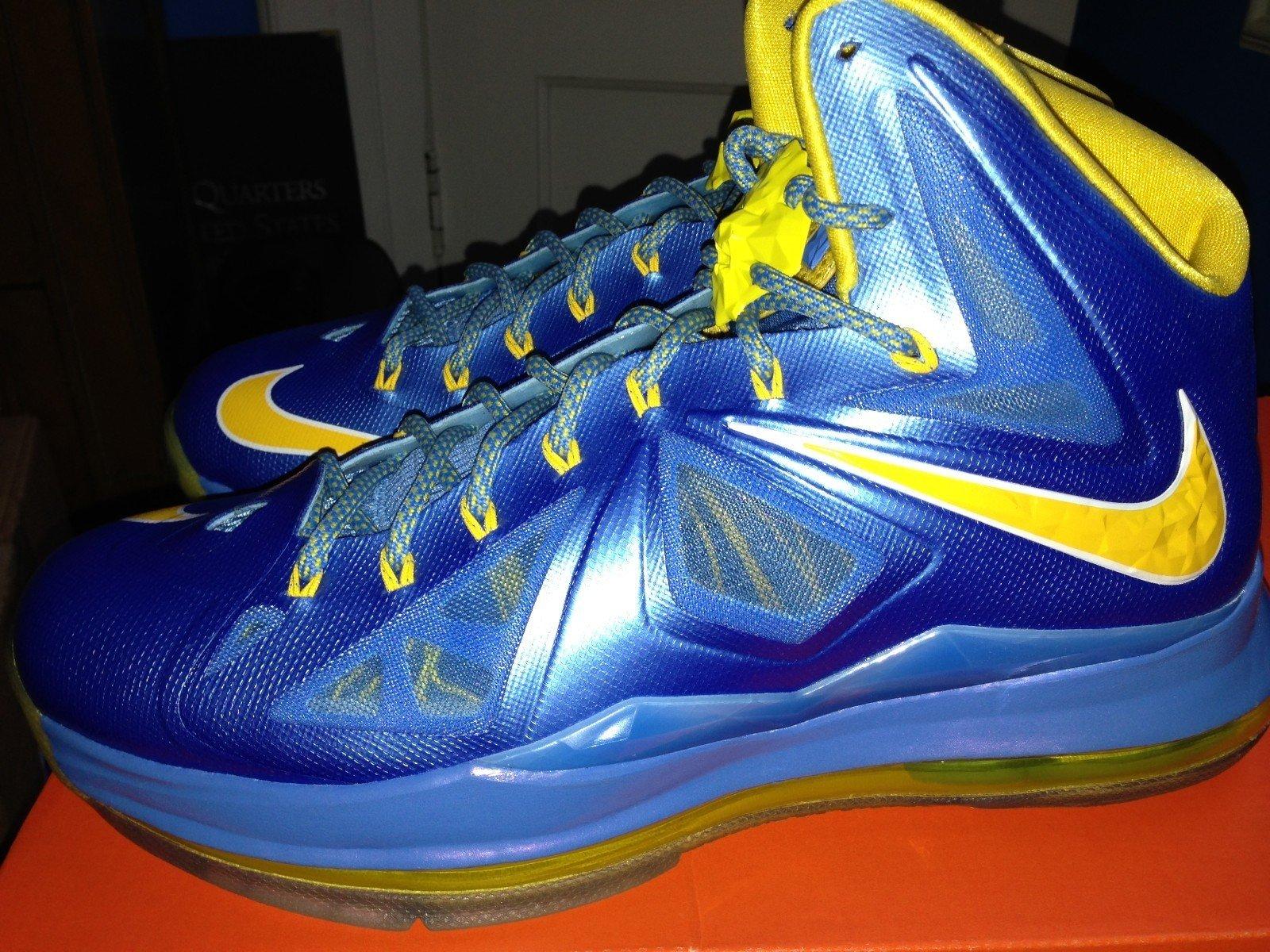 cc1d29860cd Nike LeBron X (10) Swin Cash  Away  PE