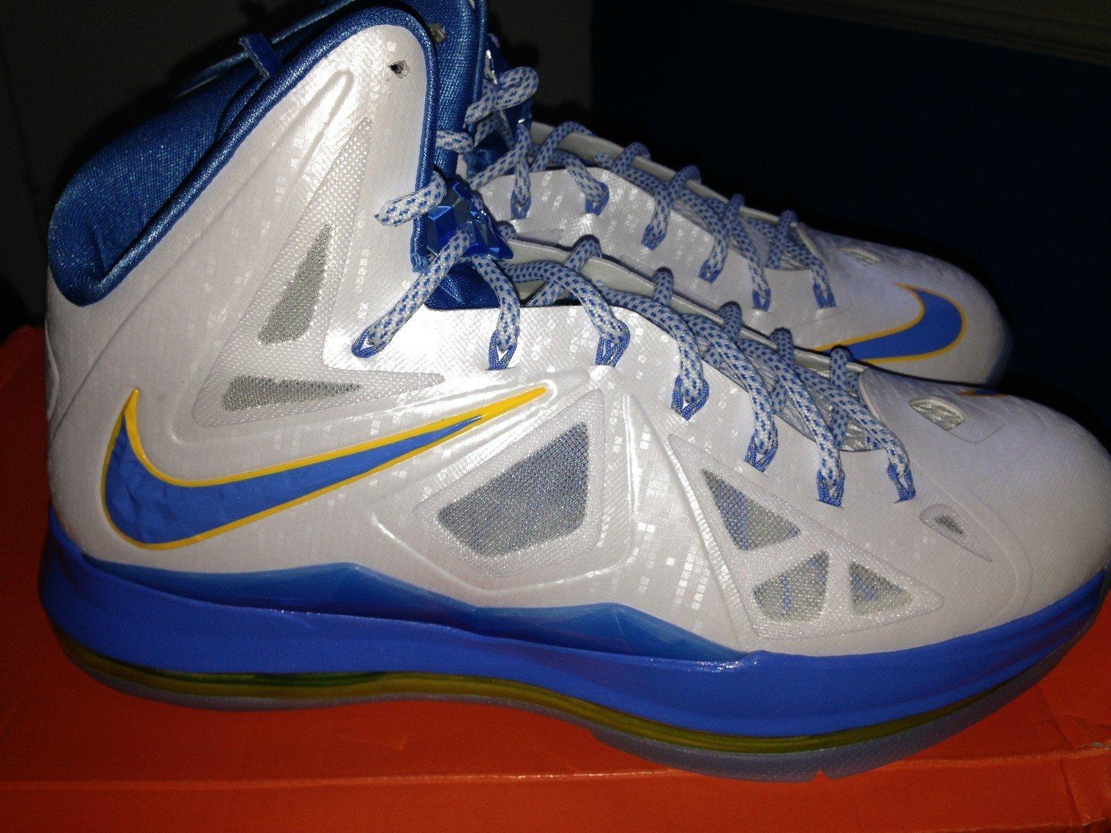 2f6df41f082 Nike LeBron X (10) Swin Cash  Home  PE