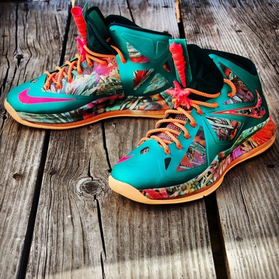 Nike LeBron X 305 Customs by Gourmet Kickz
