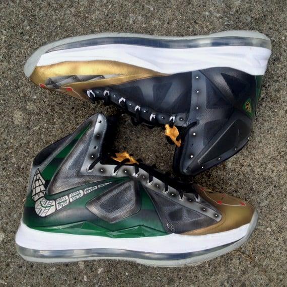 Nike Lebron X Dragonzord by DeJesus Customs