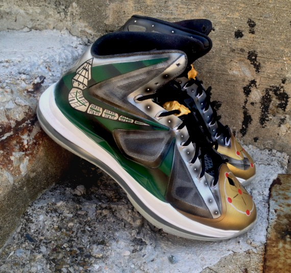 Nike Lebron X Dragonzord by DeJesus Customs