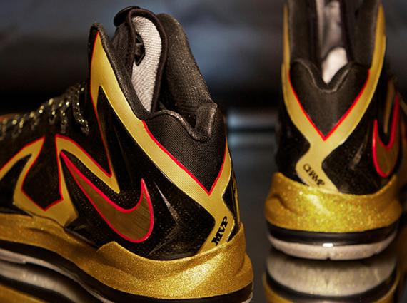 "aa4c79374da Nike LeBron X Elite ""Championship"" by Dank Customs for LeBron James ..."