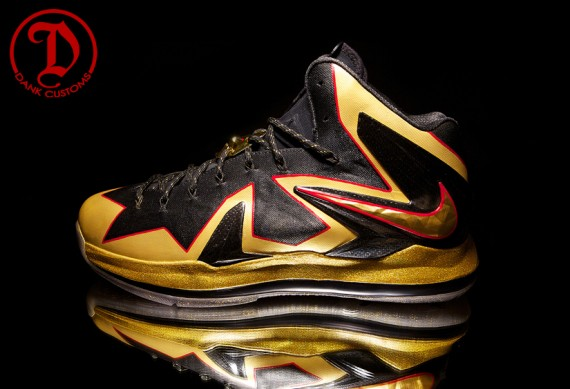 Nike LeBron X Elite Championship by Dank Customs for LeBron James