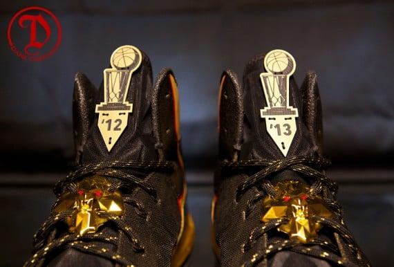 Nike LeBron X Elite Championship by Dank Customs for LeBron James