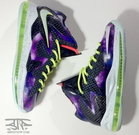 Nike LeBron X Elite Intergalactic Custom by Smooth Tip