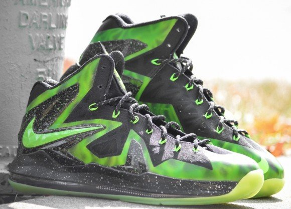 "san francisco e701c 6e0e6 ... Nike LeBron X Elite ""ParaNorman"" Customs by DMC Kicks ..."