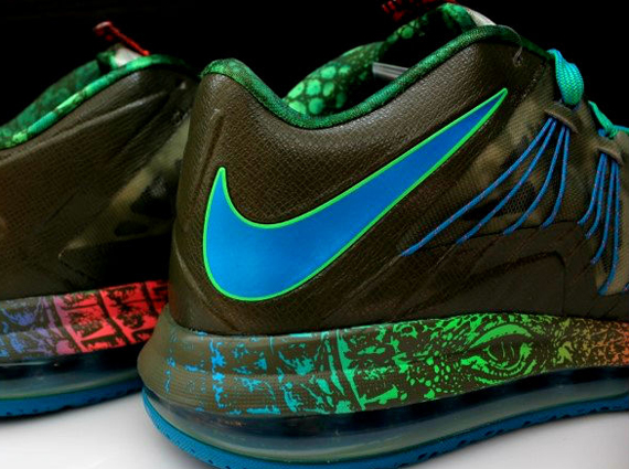 Nike LeBron X Low Reptile Another Look