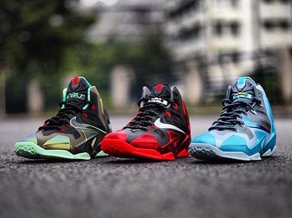 lowest price 764a1 3a4e1 Nike LeBron XI Gamma Blue Release Date. Nike LeBron 11