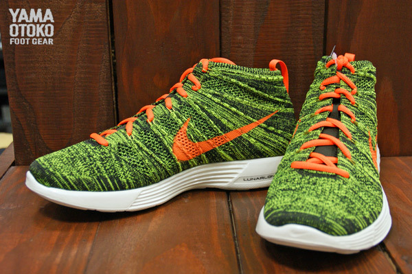 Nike Lunar Flyknit Chukka  Black Total Orange-Sequoia-Parachute Gold ... 28578bec4