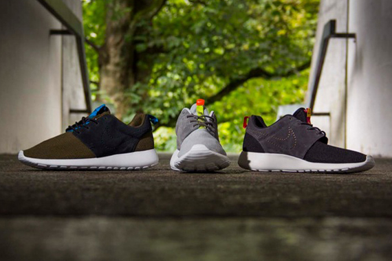 Nike Roshe Run Two-toned Suede