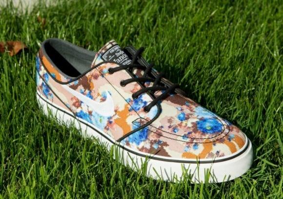 Nike SB Stefan Janoski Digi Floral Photo Blue