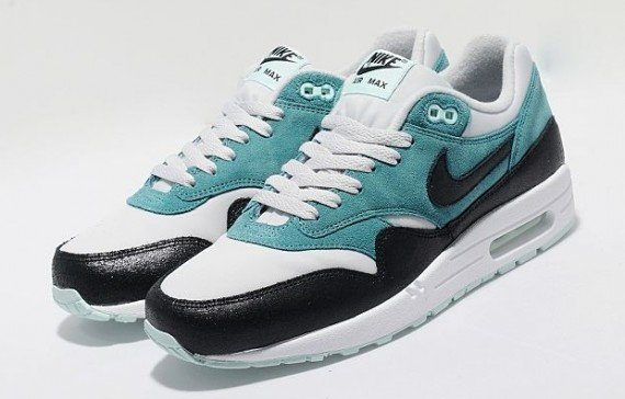 Nike WMNS Air Max 1 Dark Grey Black Teal Now Available